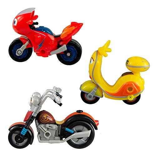 Ricky Zoom T20042 Maxwell & The Bike Buddies, Multi
