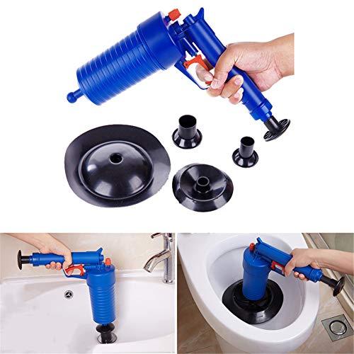 WC-Plunjer, Handmatige Drukluchtafvoer-Blaster Voor Badtoiletten, Badkamer, Douche, Wastafel, Badkuip, Verstopte Pijp in De Keuken