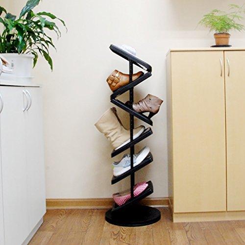 HTDZDX Zapatero Moderno Minimalista Flexible Multicapa Creative Shoe Rack económico a Prueba de Polvo Home Zapatero de Almacenamiento multifunción