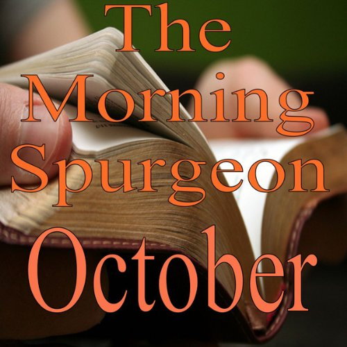 The Morning Spurgeon: October audiobook cover art