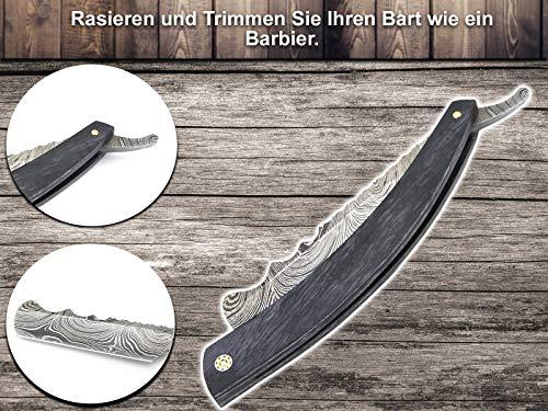 Rasiermesser mit Damast-Klinge - 3