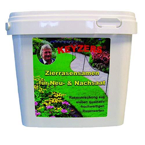 Preisvergleich Produktbild Keyzers Zierrasensamen für Neu- und Nachsaat 1 KG
