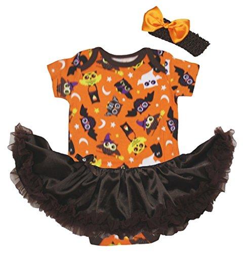 Petitebelle - Body - Bébé (fille) 0 à 24 mois orange Orange - orange - L