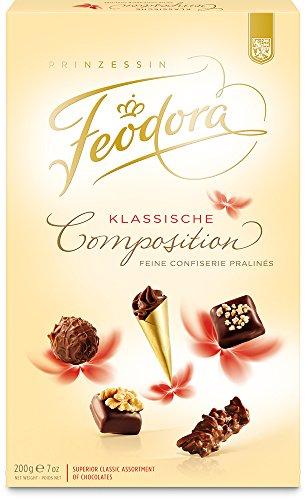 Feodora Confiserie Pralinés Klassische Composition, 1er Pack (1 x 200 g)