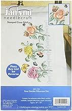 Janlynn Embroidery Kit Rose Garden Pillowcase Pair