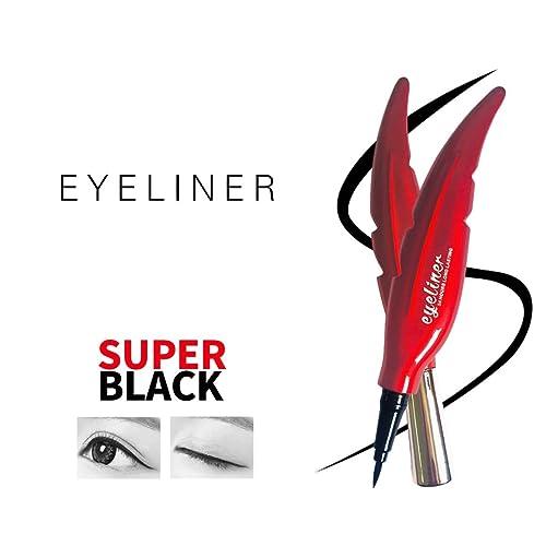 AYA Waterproof 24 Hours Long Lasting Feather Eyeliner (Black Color)