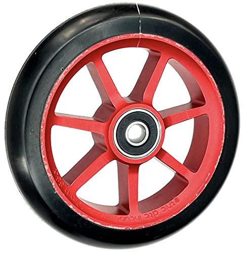 Ethic DTC Incube - Rueda de repuesto para patinete de acrobacias (110 mm, incluye pegatina Fantic26), color rojo