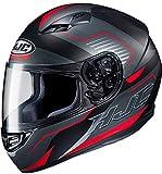 Casco moto HJC CS 15 TRION MC1SF, Nero/Grigio/Rosso, XS