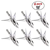 Best Broadheads For Crossbows - ZCISSY Crossbow Broadheads 100 Grain - Rotating,Stainless Steel,3 Review