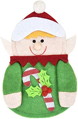 Amazon Com Londadi Christmas Decorations Sale Penguin Santa Shape Knife Fork Knife Cutlery Storage Bag Pouch Xmas Table Decor Merry Christmas Ornaments Xmas Decor Party Decor Xmas Gifts Stocking Fillers Home Kitchen