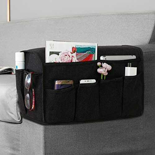 Joywell Anti Slip Armrest Covers with 8 Pockets for Sofa Couch Armchair Caddy Organizer for product image
