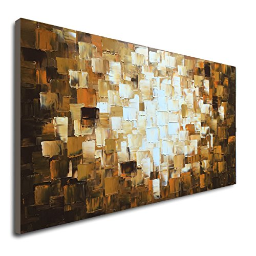 Textured Abstract Oil Paintings on Canvas Modern Art Decor for Wall