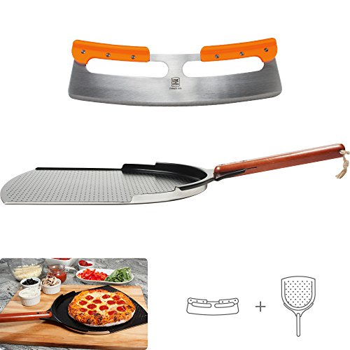 The Ultimate 14' Pizza Peel & Pizza Cutter Set