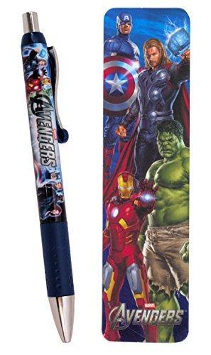 Marvel Avengers Gel Pen & Bookmark Set ~ Captain America, Thor, Hulk, Iron Man and More!