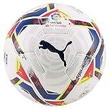 PUMA LaLiga 1 Accelerate (FIFA Quality Pro) WP Balón de Fútbol, Unisex-Adult, White-Multi Colour, 5