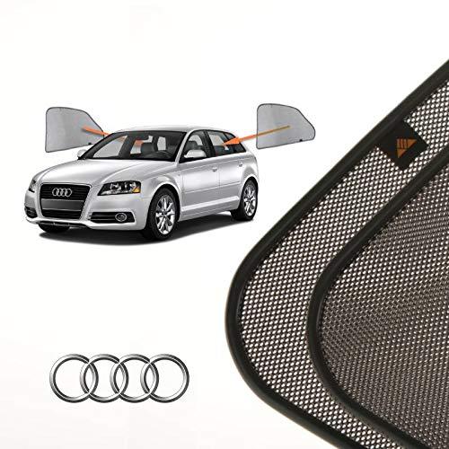 Cortinillas Parasoles Coche Laterales Traseras a Medida para Audi A3 (3) (8V) (2012-presente) Hatchback 5 Puertas