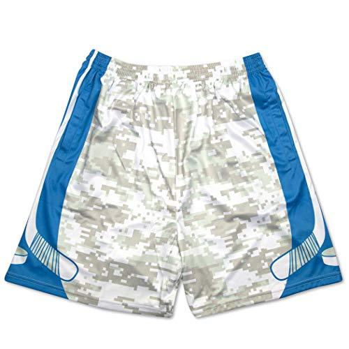 Premium Hockey Athletic Shorts   Digital Camo   Adult Large