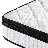 Yaheetech Double Memory Foam Mattress 4ft6 Pocket Sprung Bed Mattress 10.6 Inch