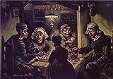 Sunyu - Rompecabezas de pintura al óleo de Vincent Van Gogh, 1000 piezas, para adultos, graduación especial o regalo de cumpleaños, decoración del hogar