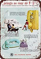 Bell Telephone Extension Phones ティンサイン ポスター ン サイン プレート ブリキ看板 ホーム バーために