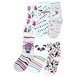TupTam Kinder Unisex Socken Bunt Gemustert 6er Pack, Farbe: Mädchen 4, Socken Größe: 23-26