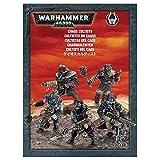 Games Workshop Chaos Cultists Warhammer 40000 con 5 figuras Cultistas del Caos Miniaturas Citadel (99120102035)