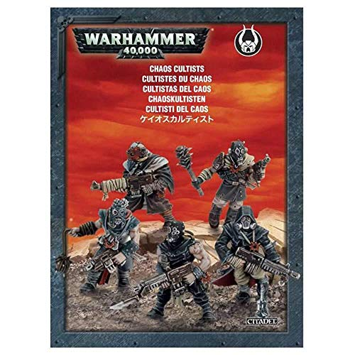 Games Workshop 99120102035 Warhammer 101.600 cm Chaos Cultists Action Figure