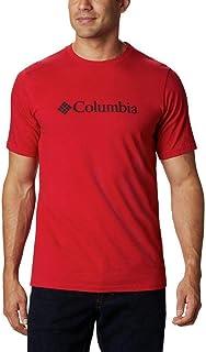 Columbia CSC Basic Logo, Haut à Manches Courtes pour Hommes