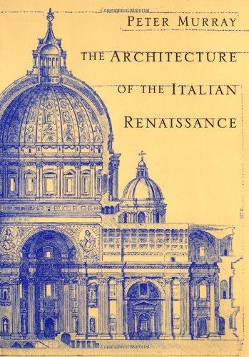 The Architecture of the Italian Renaissance