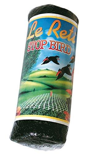 maniver rsb050 Filet Anti Oiseaux 2 m, Noir