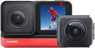 Insta360 ONE R Twin Edition- 4K Action Camera & 5.7K Camera 360 con lenti intercambiabili, Stabilizzazione, IPX8, Impermea...