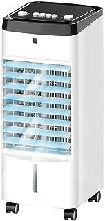 Enfriador de aire acondicionado, tanque de agua de gran capacidad de 4L, tres modos pueden satisfacer sus diferentes necesidades Temporizador de 1 a 12 horas (esta función es solo para control remot