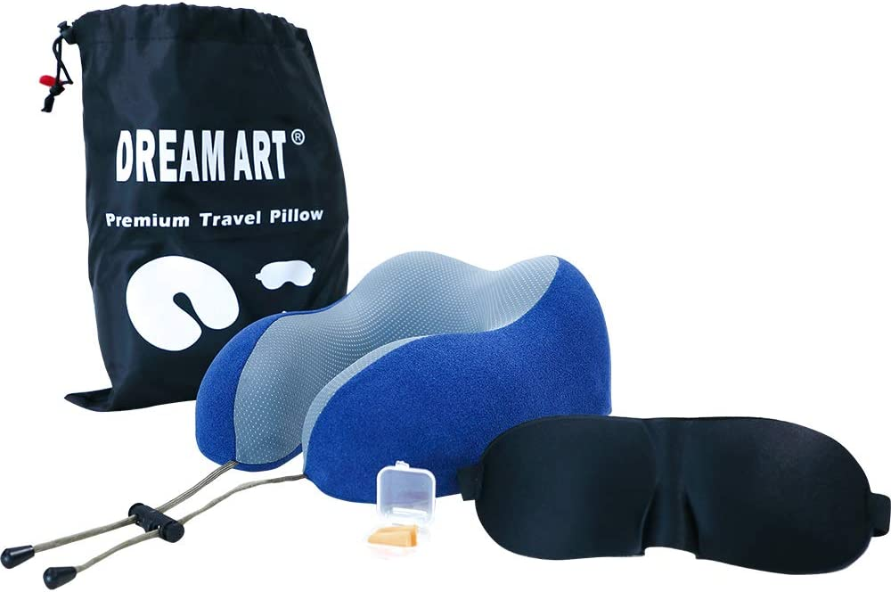 Cross Land 100% Pure Memory Sales for sale Foam Neck Eye and with Pillow e Mask Superior