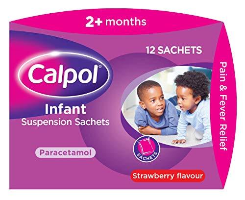 Calpol Infant Suspension Sachets, 5 ml, 12-Count