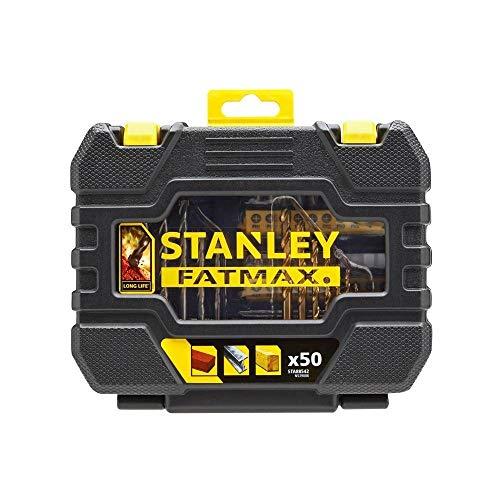 Stanley STA88542-XJ Juego de 50 piezas para taladrar y atornillar, Lemon Tree