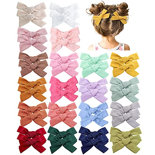 40 Pieces Baby Girls Hair Bows Clips Hair Barrettes Accessory for Babies Infant Toddlers Kids