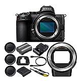 Nikon Z5 Mirrorless Digital Camera Body with Nikon FTZ Mount Adapter Bundle (2 Items)