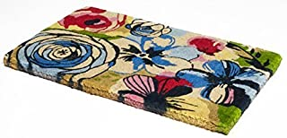 Handwoven, Extra Thick Doormat | Durable Coir, Easy Clean, Stylish | Entryway Door mat for Patio, Front Door | Decorative ...
