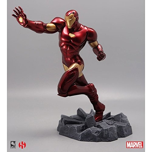 sémic - spiro02 - Estatua Iron Man - Captain America - Civil War - Marvel
