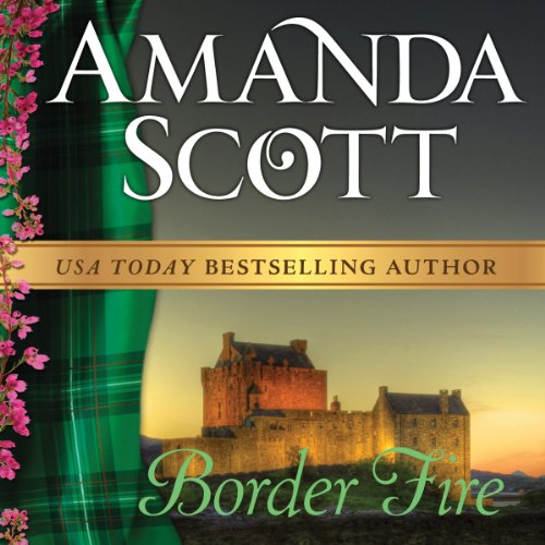 Border Fire audiobook cover art