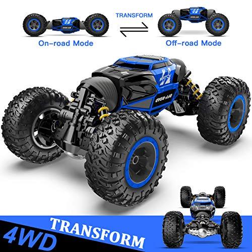 BEZGAR 15/16 Toy Grade1:14 Scale Remote Control Crawler