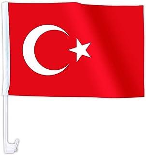 Suchergebnis Auf Für Türkei Flagge Auto Flaggen Autozubehör Auto Motorrad