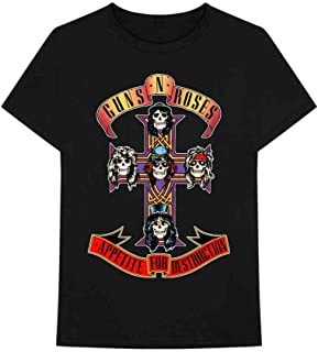 Men's Guns N' Roses Cross T-Shirt
