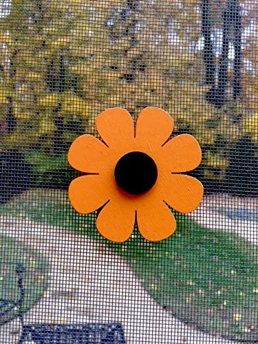 "Screen Door Saver Magnets- These 2 1/2"" x 2 1/2"" Flower Magnets were Designed to Save Your Sliding Screen Doors from an Accidental Walk Through."