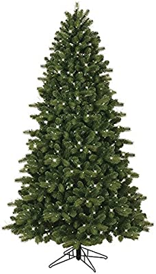 a275d7d856e GE 7.5-ft Pre-lit Colorado Spruce Artificial Christmas Tree with 500  Constant Clear