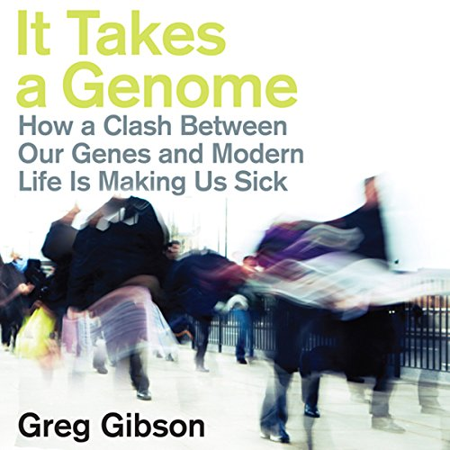 It Takes a Genome audiobook cover art