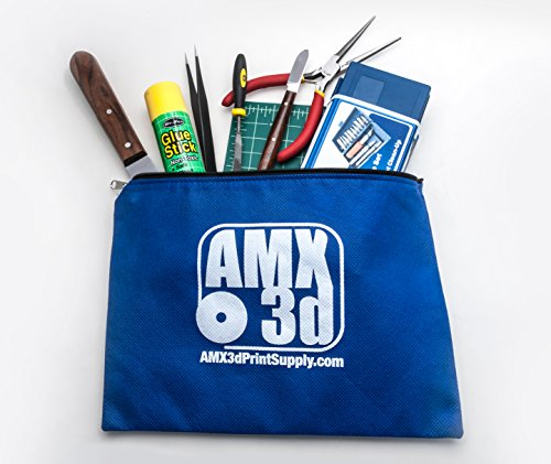 Product Image 2: AMX3d 25 Piece 3D Printer Tool Kit – All The 3D Printing Tools Needed to Clean & Finish 3D Prints – Print Like a Pro