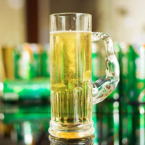 Bierglazen Biermokken Bier Donker bier, Bierglas, Grote Bar, Wijn, 500 Ml, Melk drankje, Koud drankje, Yoghurt Keuken