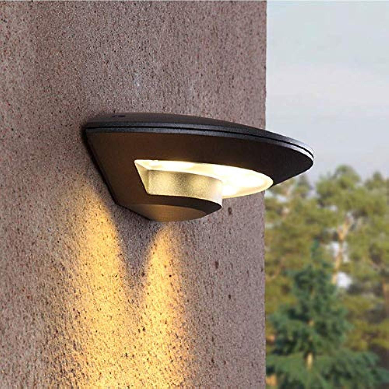 LED-Lampe für die Innenhofwandbeleuchtung, Kreative Wandleuchte im Freien G9 3000k Auenleuchte - warmes Licht L245  W125  H65mm