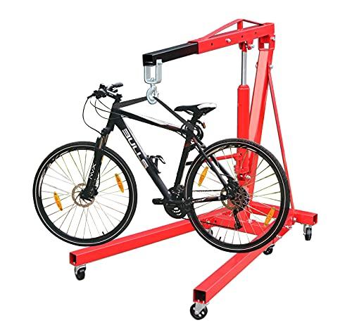 Fahrradkran Kran mit Haken 2 t Fahrradmontage